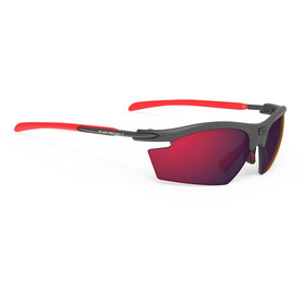 Rudy Project Rydon Okulary rowerowe, graphite - polar 3fx hdr multilaser red
